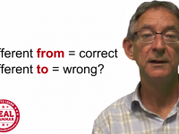 Choosing the correct preposition is not always easy (for anyone)