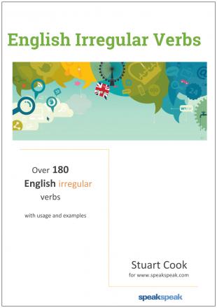 70 common irregular verbs: pre-intermediate learners